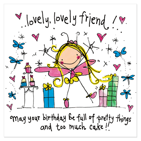 Lovely, lovely friend! May your birthday... - Juicy Lucy Designs
