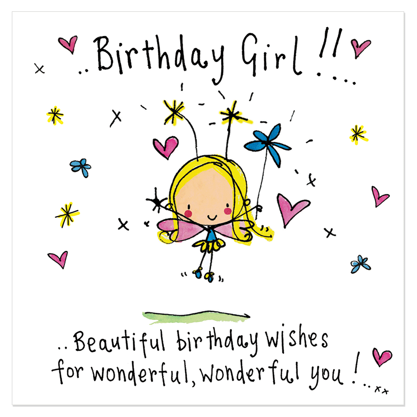 Birthday Girl Beautiful Birthday Wishes Juicy Lucy Designs