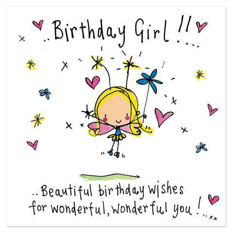 Birthday Girl!! Beautiful birthday wishes... - Juicy Lucy Designs