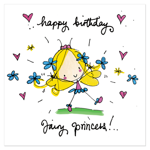 Happy Birthday Fairy Princess! - Juicy Lucy Designs