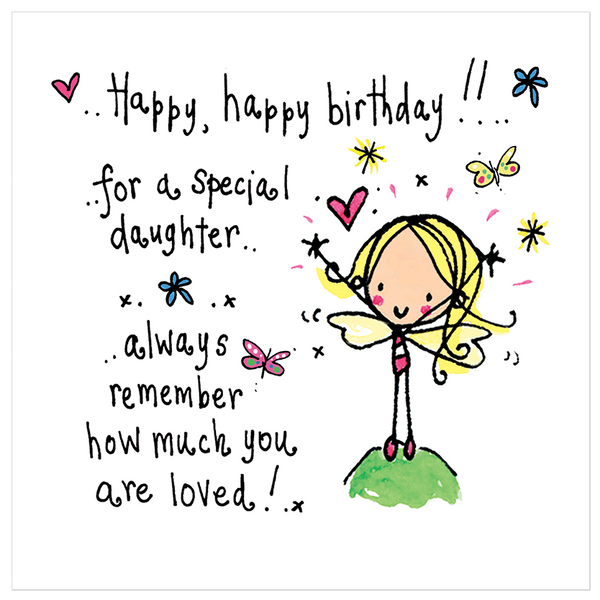 Daughter S 9th Birthday Quotes: Happy Happy Birthday To A Special Daughter!
