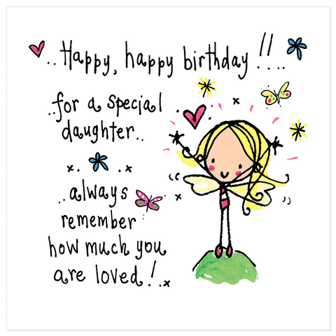 Happy happy birthday to a special daughter! - Juicy Lucy Designs