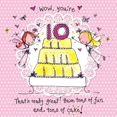 Wow you're ten! That's really great! - Juicy Lucy Designs