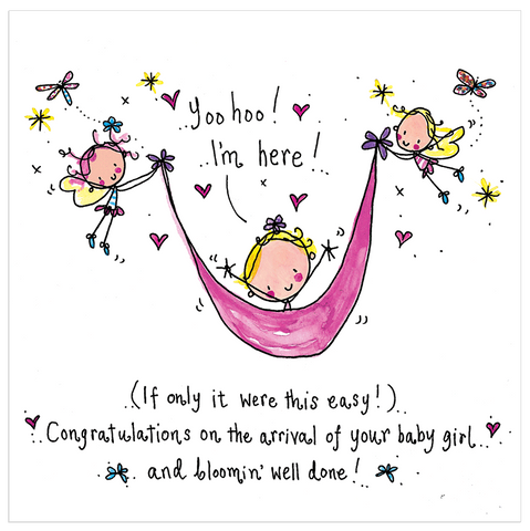 Congratulations on the arrival of your new baby girl... - Juicy Lucy Designs