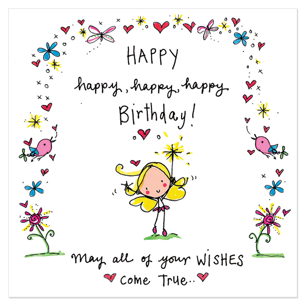 Birthday Wishes For Your Best Friends With Cute Images: Happy, Happy, Happy, Happy Birthday!