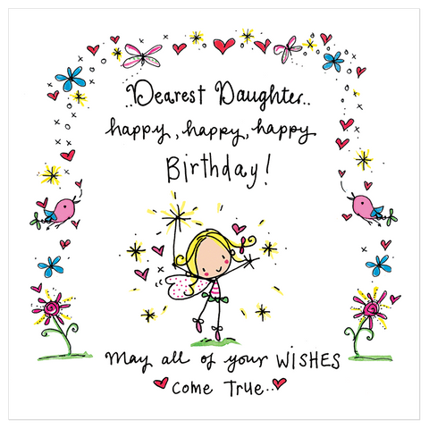 Dearest Daughter..happy, happy, happy Birthday! - Juicy Lucy Designs