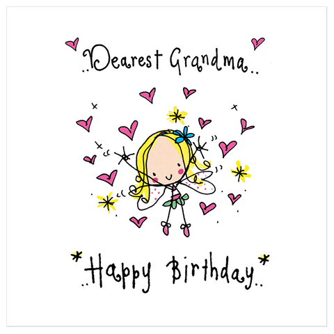 Dearest Grandma! Happy Birthday! - Juicy Lucy Designs