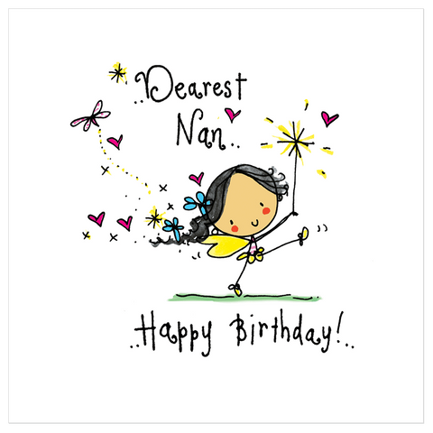 Dearest Nan.. Happy Birthday! - Juicy Lucy Designs