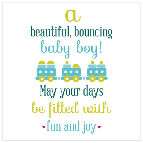 A beautiful bouncing boy! - Juicy Lucy Designs