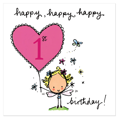 Happy, happy, happy 1st birthday! - Juicy Lucy Designs