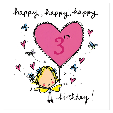 Happy, happy, happy 3rd birthday! - Juicy Lucy Designs