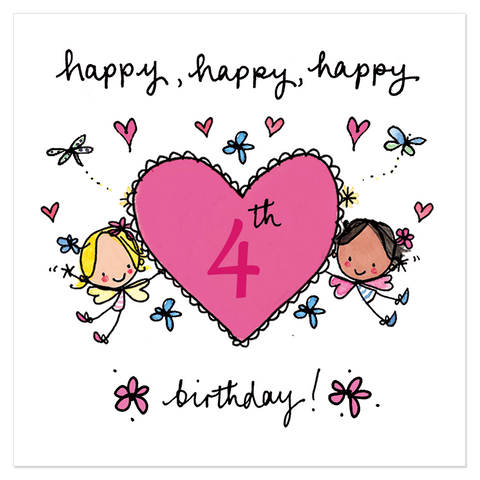 Happy, happy, happy 4th birthday! - Juicy Lucy Designs