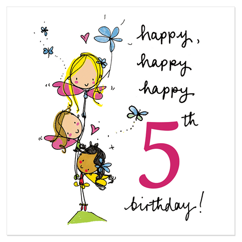 Happy, happy, happy 5th birthday! - Juicy Lucy Designs