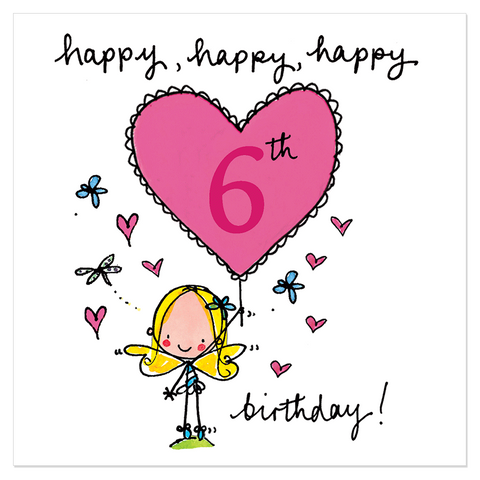 Happy, happy, happy 6th birthday! - Juicy Lucy Designs
