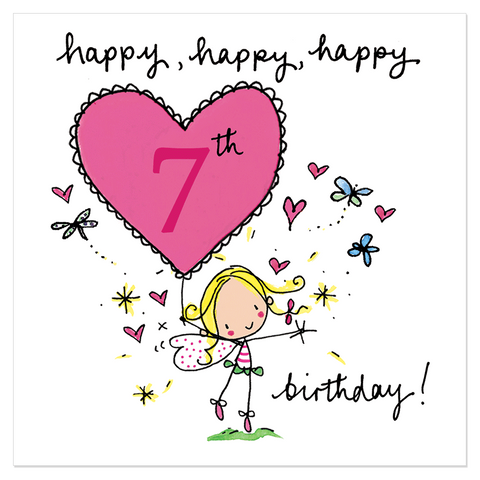 Happy, happy, happy 7th birthday! - Juicy Lucy Designs