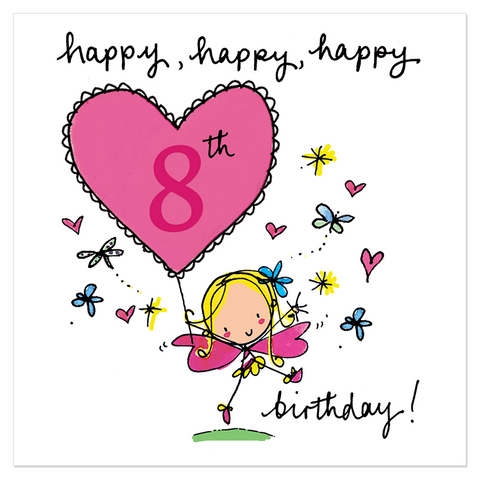 Happy, happy, happy 8th birthday! - Juicy Lucy Designs