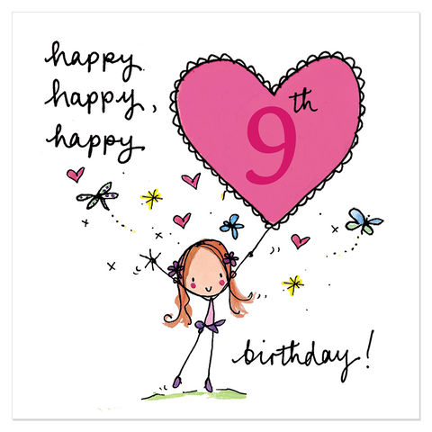 Happy, happy, happy 9th birthday! - Juicy Lucy Designs