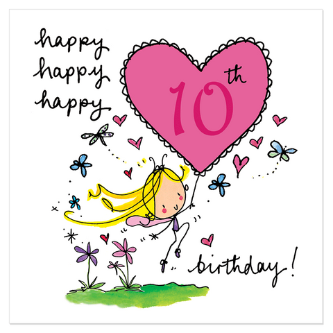 Happy, happy, happy 10th birthday! - Juicy Lucy Designs