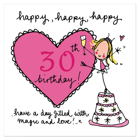 Happy, happy, happy 30th birthday! - Juicy Lucy Designs