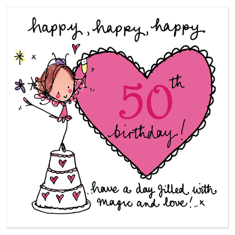 Happy, happy, happy 50th birthday! - Juicy Lucy Designs