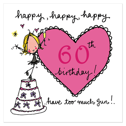 Happy, happy, happy 60th birthday! - Juicy Lucy Designs