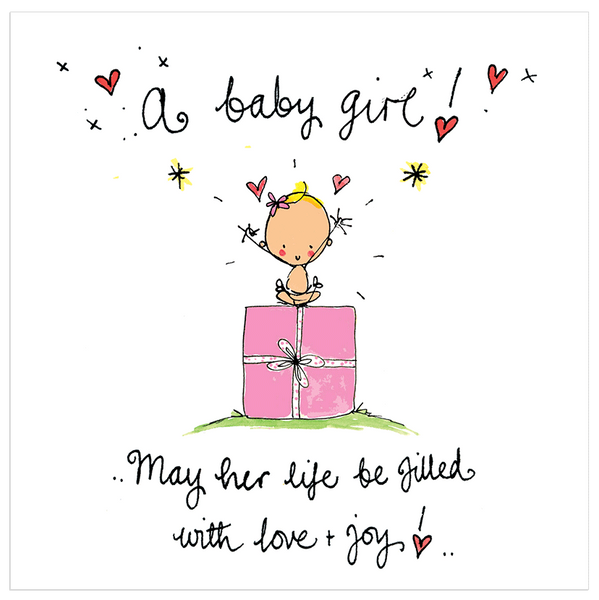 Congratulations On New Baby Girl Quotes: A Baby Girl! May Her Life Be Filled With Love And Joy