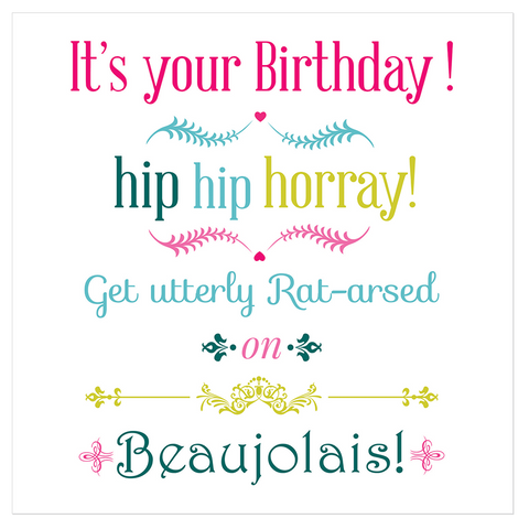 It's your birthday! - Juicy Lucy Designs