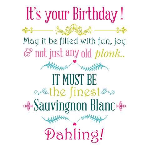 It's your Birthday! May it be filled with fun... - Juicy Lucy Designs