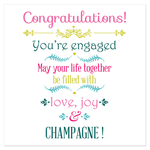 Congratulations! You're engaged... - Juicy Lucy Designs