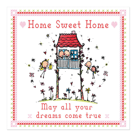 Home Sweet Home - May all your dreams come true! - Juicy Lucy Designs