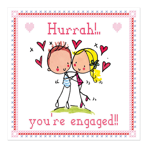 Hurrah! You're engaged! - Juicy Lucy Designs