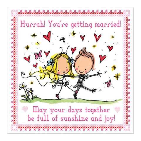 Hurrah! You're getting married! - Juicy Lucy Designs