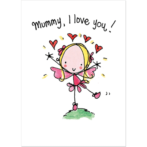 Mummy I Love You - Juicy Lucy Designs