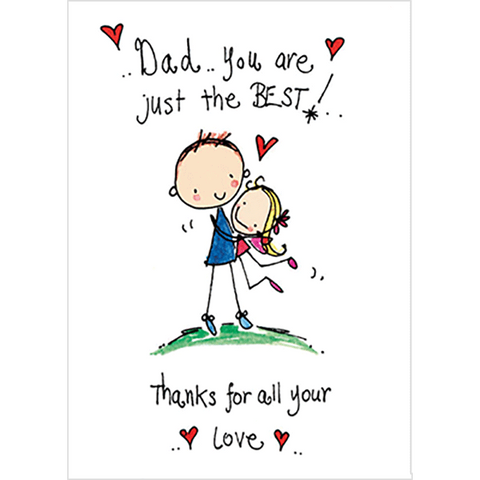 Dad you are just the best! Thanks for all your love! - Juicy Lucy Designs
