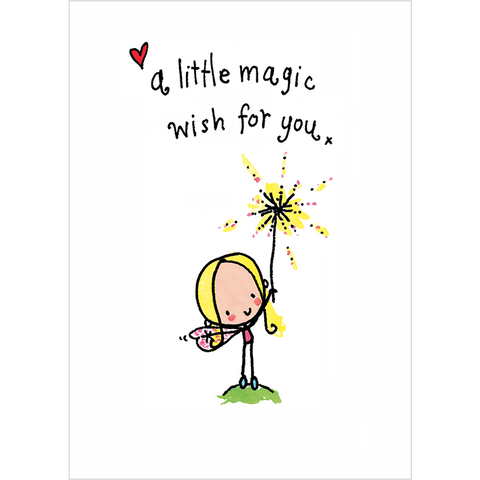 A little magic wish for you! - Juicy Lucy Designs