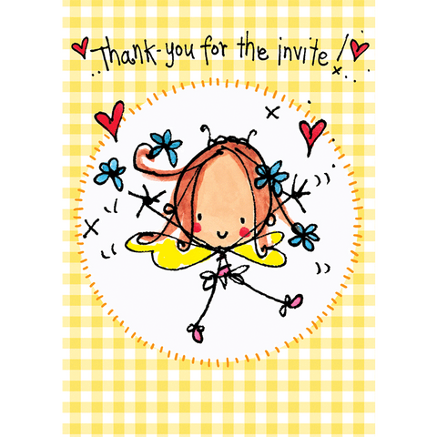 Thank you for the Invite! - Juicy Lucy Designs