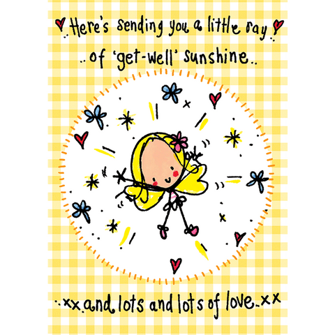 Get Well Sunshine! - Juicy Lucy Designs