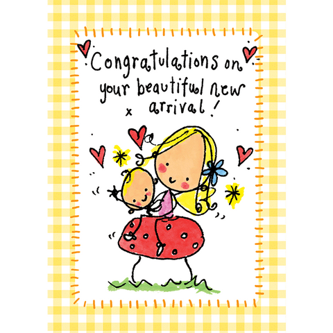Congratulations on your beautiful new arrival! - Juicy Lucy Designs