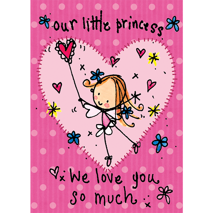 Our Little Princess We Love You So Much Juicy Lucy Designs