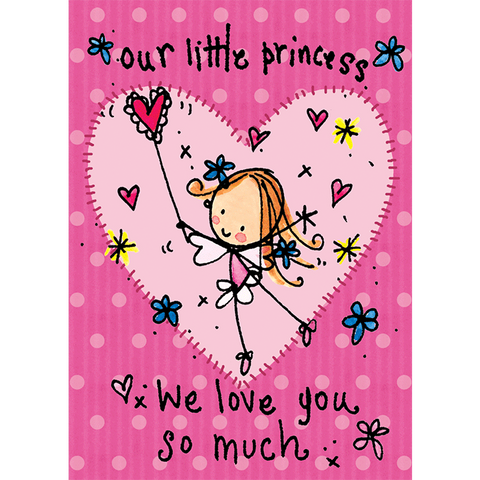 Our little princess! We love you so much! - Juicy Lucy Designs