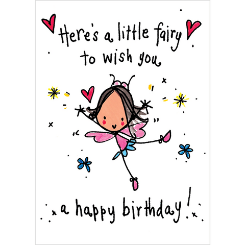 A fairy happy birthday to you...may all your wishes come true! - Juicy Lucy Designs