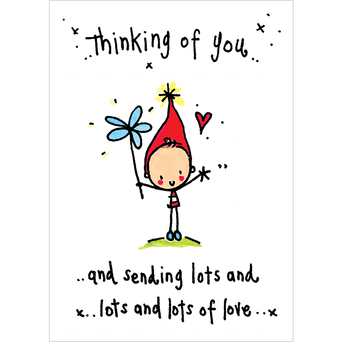 thinking of you and sending lots and lots of love juicy lucy designs