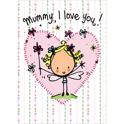 I love you Mummy! - Juicy Lucy Designs