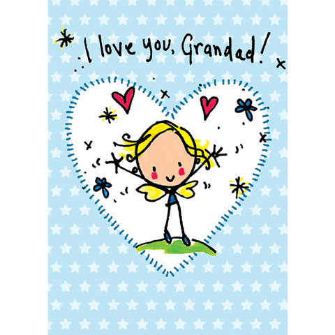 I love you Grandad! - Juicy Lucy Designs