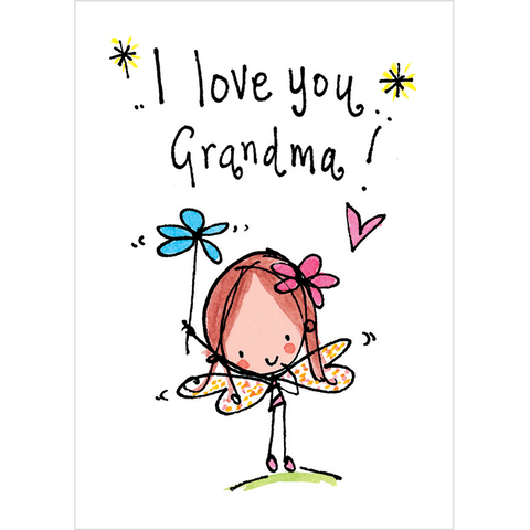 I love you Grandma! - Juicy Lucy Designs