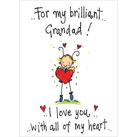 For my brilliant Grandad! I love you with all my heart! - Juicy Lucy Designs