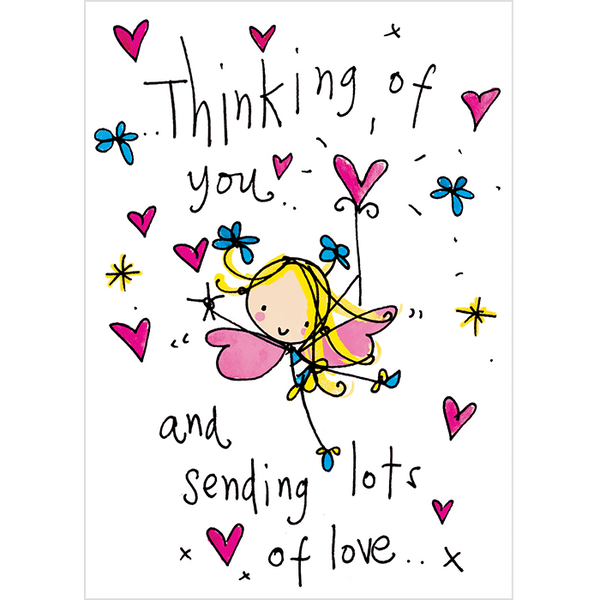 Thinking of you and sending lots of love.. – Juicy Lucy ...