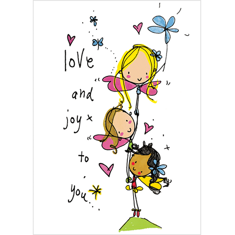 Love and joy to you! - Juicy Lucy Designs