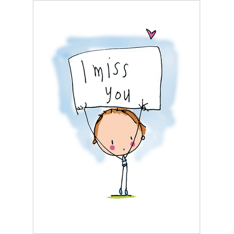 I Miss You! - Juicy Lucy Designs