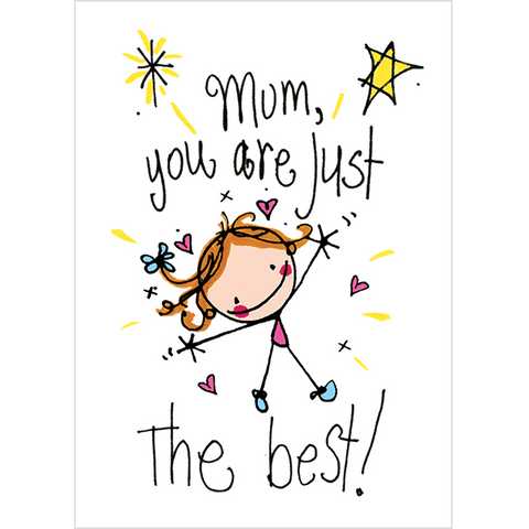 Mum, you are just the best! - Juicy Lucy Designs